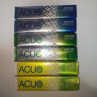LOTTE ACUO3種類×2(菓子/デザート)