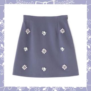 プロポーションボディドレッシング(PROPORTION BODY DRESSING)の♡ビジュウスカパン♡(ミニスカート)