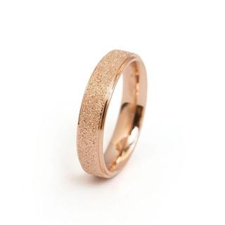 キラキララメ チタンステンレス レディース リング 指輪 サイズ14(リング(指輪))