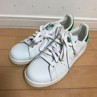 アディダス(adidas)の★未使用★adidas スタンスミス 24.5cm グリーン(スニーカー)
