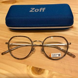 ゾフ(Zoff)のzoff メガネ 度なし(サングラス/メガネ)