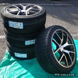 ベンチ(Bench)の新品 ベンツ タイヤ&ホイール4本セット Sクラス CL Eクラス W220 W(タイヤ・ホイールセット)