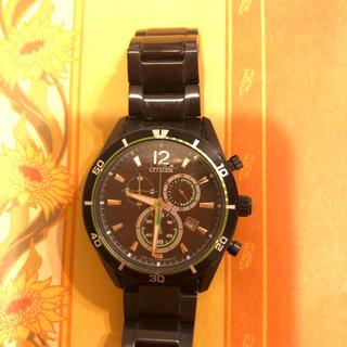 シチズン(CITIZEN)のCITIZEN  エコドライブ クロノグラフGN-4-S(腕時計(アナログ))