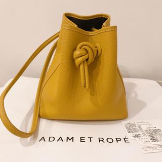 アダムエロぺ(Adam et Rope')のVASIC bond mini イエロー(ハンドバッグ)