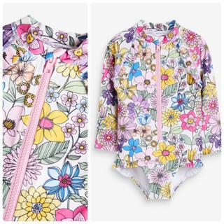 新品❣️ネクスト ピンク - フローラル スイムスーツ