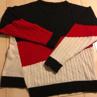 COMME CA MEN - コムサメンベータ 非売品サンプル ビッグセーター