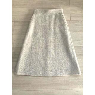 マルティニークルコント(martinique Le Conte)のマルティニーク  ネップツイードスカート(ひざ丈スカート)