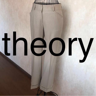 セオリー(theory)の★theory/セオリー★極美品★パンツ2(M.9号)(カジュアルパンツ)