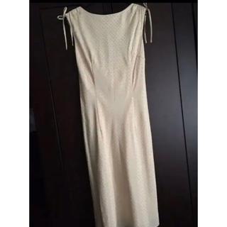 ルスーク(Le souk)のルスーク シャンパンゴールドドレス(ミディアムドレス)