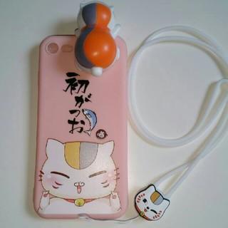 夏目友人帳ニャンコ先生iPhoneアイフォン7・8ケース(iPhoneケース)