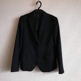 アオキ(AOKI)の●LES MUES Femme(レミューファム)AOKI 黒①(テーラードジャケット)