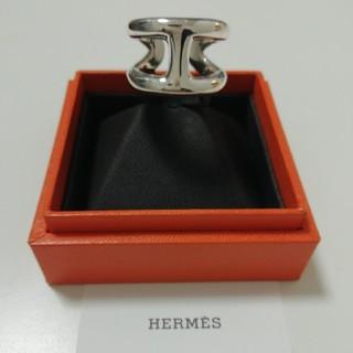 エルメス(Hermes)のhermes オスモス シルバーリング 18号(リング(指輪))