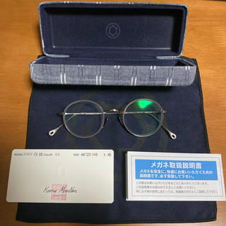 アヤメ(Ayame)の【新古品】カメマンネン 眼鏡(サングラス/メガネ)