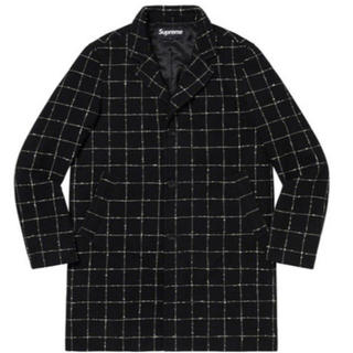 シュプリーム(Supreme)のSupreme 19aw Wool Windowpane Overcoat M(チェスターコート)