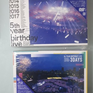ノギザカフォーティーシックス(乃木坂46)の乃木坂46 BIRTHDAY LIVE Blue-ray 5th & 6th(ミュージック)