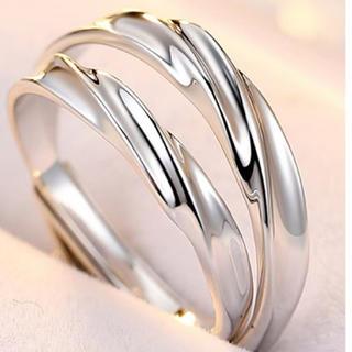 【特別限定価格】 ペアリング  メンズ レディース 指輪 シルバー リング(リング(指輪))