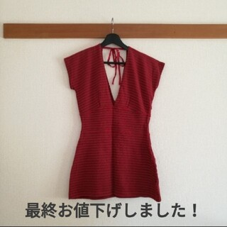 SLY - 【SLY】THICK BELT V/N TUNIC