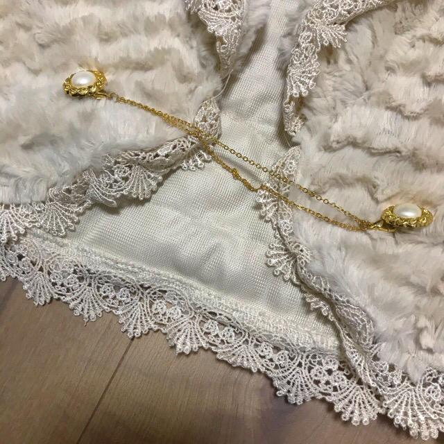 axes femme(アクシーズファム)の新品♡axes★ファーボレロ★結婚式 レディースのトップス(ボレロ)の商品写真