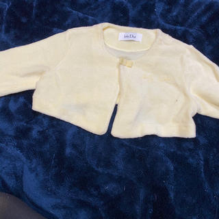 ベビーディオール(baby Dior)のディオール 長袖 カーディガン 70  美品(カーディガン/ボレロ)