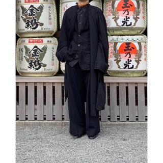 サンシー(SUNSEA)のessay 16aw oversized collar less coat(チェスターコート)