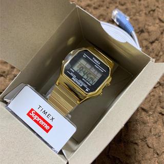 supreme Timex digital watch gold シュプリーム