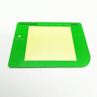 ゲームボーイ(ゲームボーイ)の初代ゲームボーイパーツ スクリーンレンズ(カラー:グリーン)(携帯用ゲーム機本体)