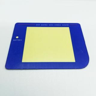ゲームボーイ(ゲームボーイ)の初代ゲームボーイパーツ スクリーンレンズ(カラー:ブルー)(携帯用ゲーム機本体)