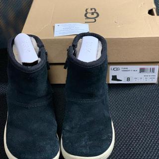 アグ(UGG)のUGG  ブラック色  15センチ(ブーツ)