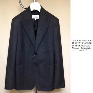 マルタンマルジェラ(Maison Martin Margiela)の新品■46■18aw マルジェラ■テーラードジャケット■グレー■7659(テーラードジャケット)