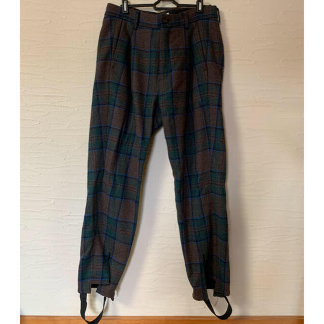 Jieda(ジエダ)のjieda PLAID TAILORED JACKET、TUCK SLACKS メンズのジャケット/アウター(テーラードジャケット)の商品写真