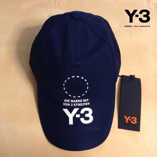 ワイスリー(Y-3)の新品■18AW Y-3■ロゴ キャップ■紺■adidas■7212 (キャップ)