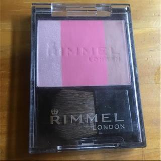 リンメル(RIMMEL)のリンメル スリーインワン モデリングフェイスブラッシュ 002 5g(チーク)