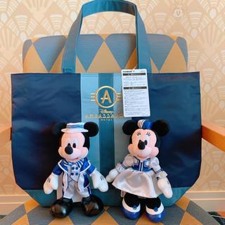 ミッキーマウス(ミッキーマウス)のアンバサダーホテル トートバック&ぬいぐるみ(トートバッグ)