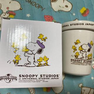 スヌーピー(SNOOPY)のSNOOPY蓋付きマグカップ(マグカップ)