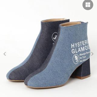 ヒステリックグラマー(HYSTERIC GLAMOUR)の【新品・未使用】ヒステリックグラマー  チャンキーヒールブーツ(ブーツ)