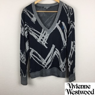 ヴィヴィアンウエストウッド(Vivienne Westwood)の美品 ヴィヴィアンウエストウッドマン 長袖カットソー グレー サイズM(Tシャツ/カットソー(七分/長袖))