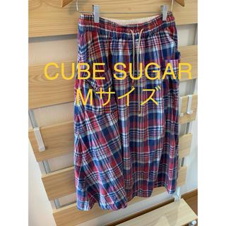 キューブシュガー(CUBE SUGAR)のCUBE SUGAR ロンスカ Mサイズ(ロングスカート)