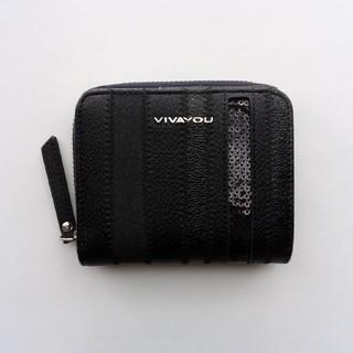 VIVAYOU 二つ折り財布 黒