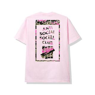 アンチ(ANTI)のanti social social club×undefeated Tシャツ(Tシャツ/カットソー(半袖/袖なし))