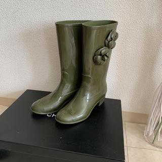 シャネル(CHANEL)の正規品 シャネル レインブーツ(レインブーツ/長靴)