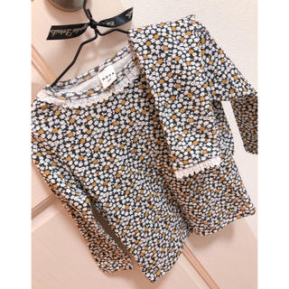 petit main - 新品 韓国子供服 パジャマ 花柄 ベビー