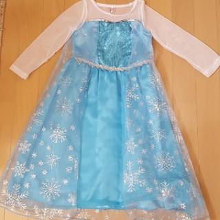 アナトユキノジョオウ(アナと雪の女王)の100センチ エルサドレス(衣装)