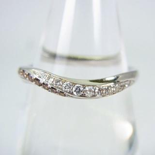 K18WG ダイヤモンド リング 13号 [g141-6](リング(指輪))