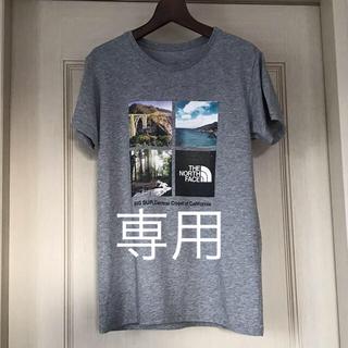 ザノースフェイス(THE NORTH FACE)の[プロフィール様専用]S/S PHOTO LOGO TEE  グレー (Tシャツ(半袖/袖なし))