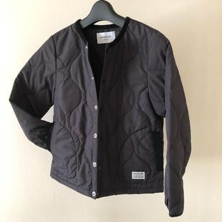 コドモビームス(こども ビームス)のARCH&LINE  キルティングジャケット ブラック 135  男女兼用 美品(ジャケット/上着)