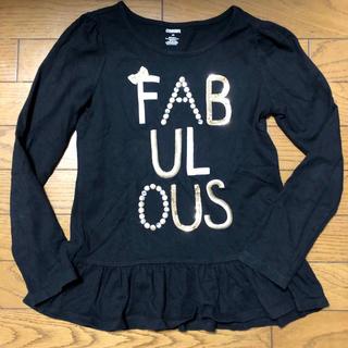 ジンボリー(GYMBOREE)の美品 ジンボリー ロンT スパンコール 10歳 ブラック(Tシャツ/カットソー)
