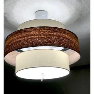 日本製ペンダントライト ナチュラル リモコン式調光調色LED電球付き(天井照明)
