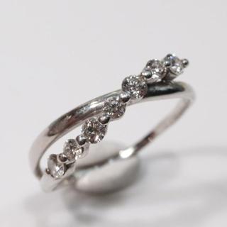 トクトクジュエリー ダイヤモンド 0.32 プラチナ リング(リング(指輪))