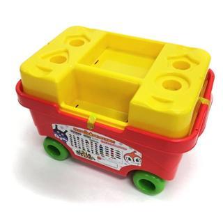 アンパンマン(アンパンマン)のアンパンマン ブロックラボ はじめてのブロックワゴン(知育玩具)