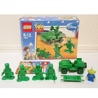 Lego - LEGO トイ・ストーリー パトロール中のグリーン・アーミー・メン 7595